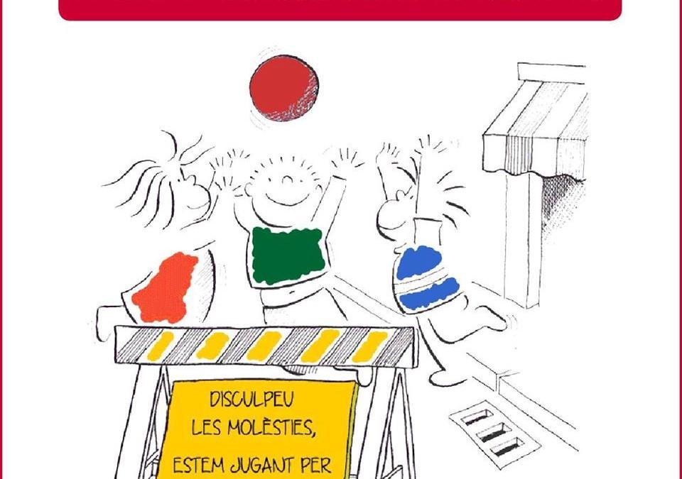 La Gimcana pels Drets de l'Infant en marxa! #DretalLleure