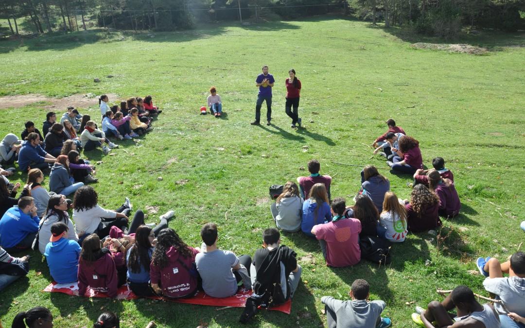 Joves implicats en el projecte Custòdia